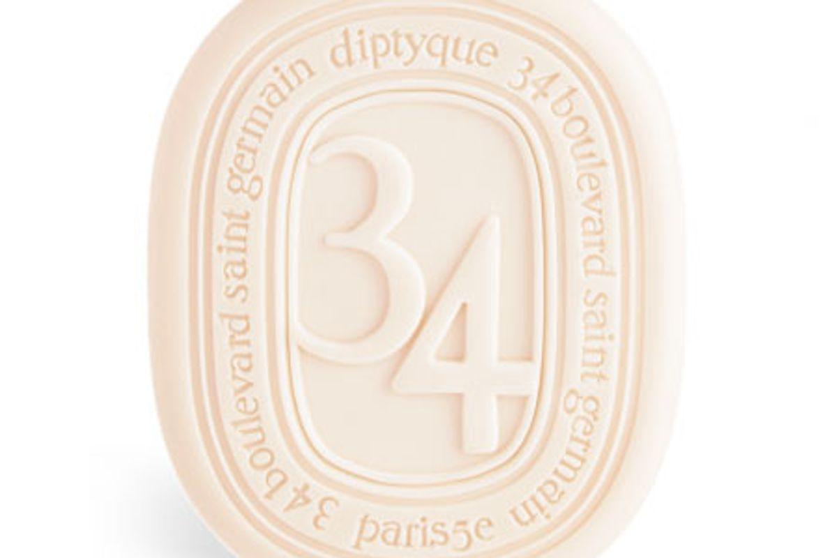 diptyque 34 boulevard saint germain perfumed soap