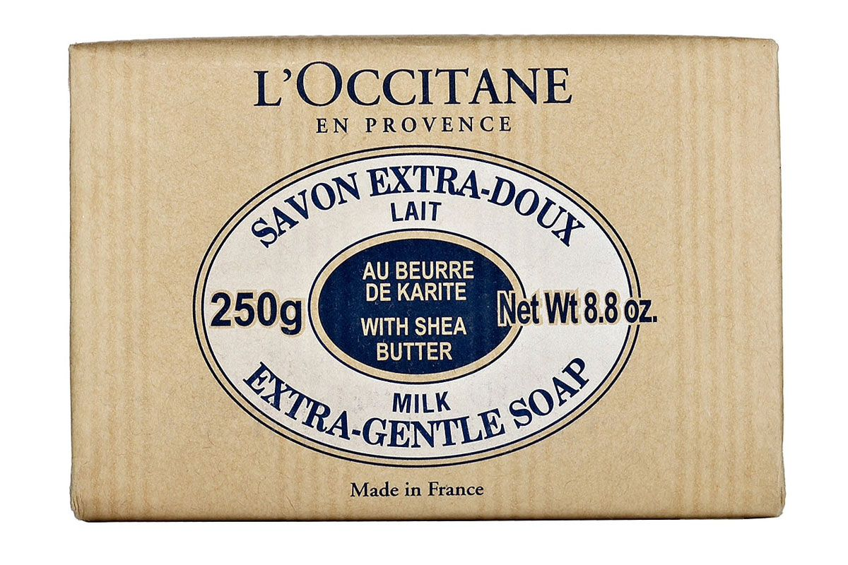 loccitane shea butter extra gentle soap