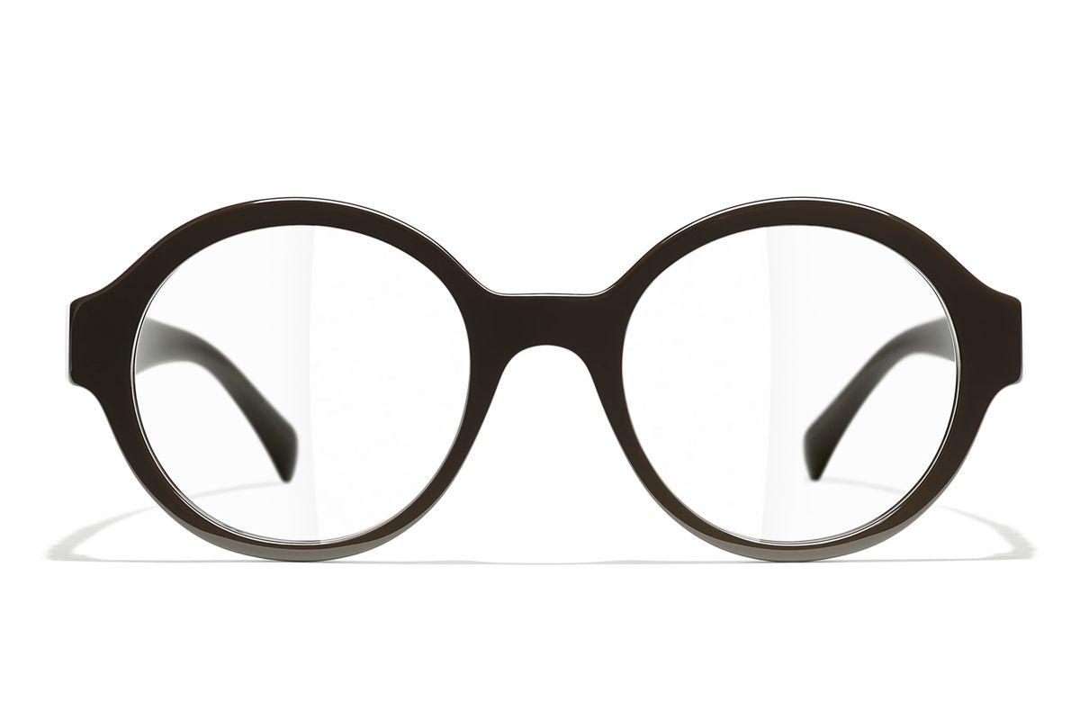 chanel round eyeglasses