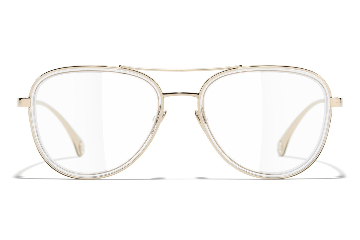 chanel pilot eyeglasses