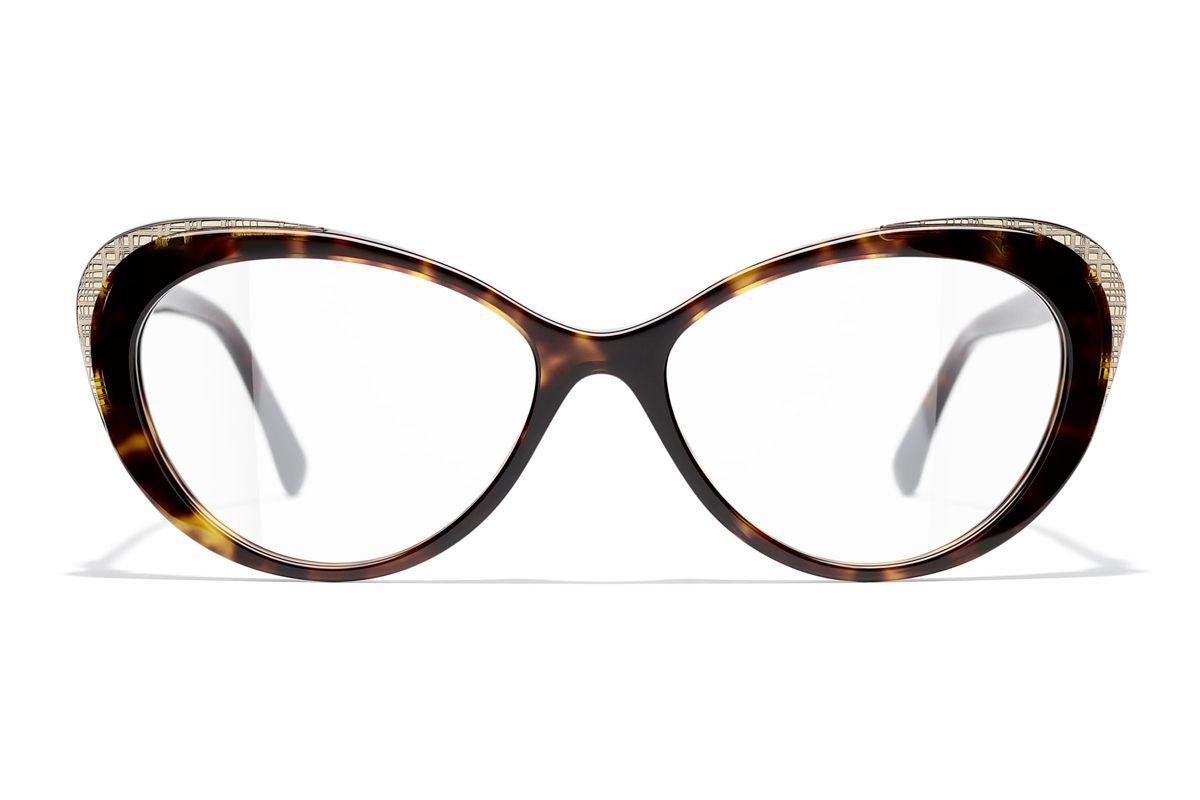 chanel cat eye eyeglasses