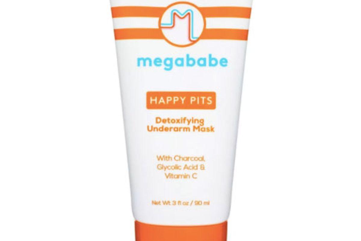 megababe happy pits detoxifying underarm mask