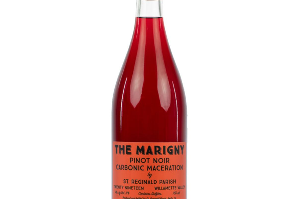 the marigny 2019 pinot noir carbonic maceration