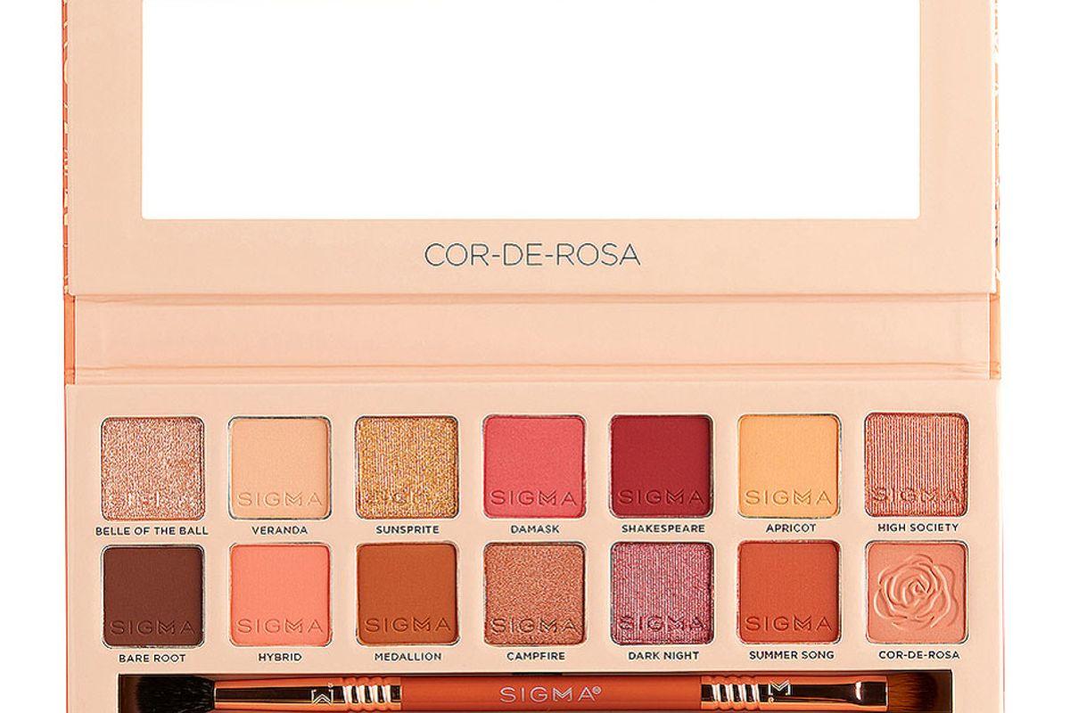 sigma beauty cor de rosa eyeshadow palette