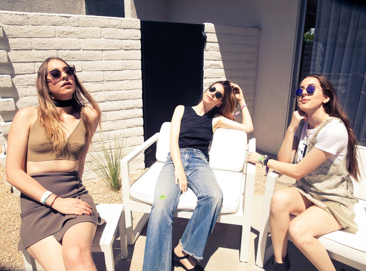 How HAIM Does Coachella