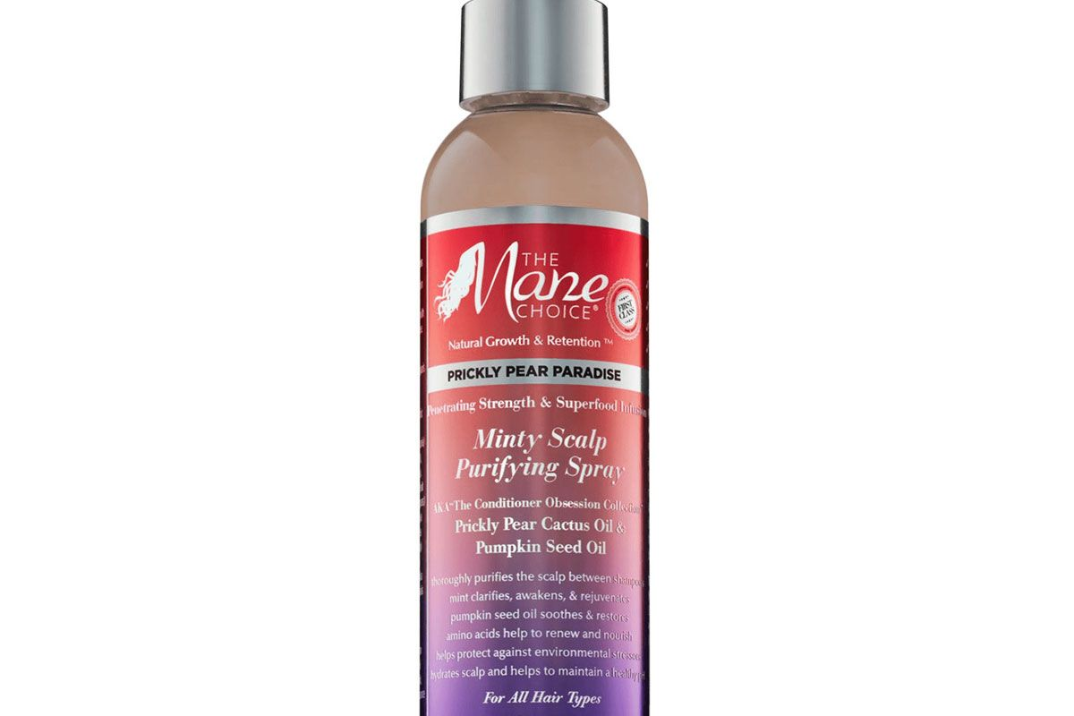 the mane choice prickly pear paradise minty scalp purifying spray
