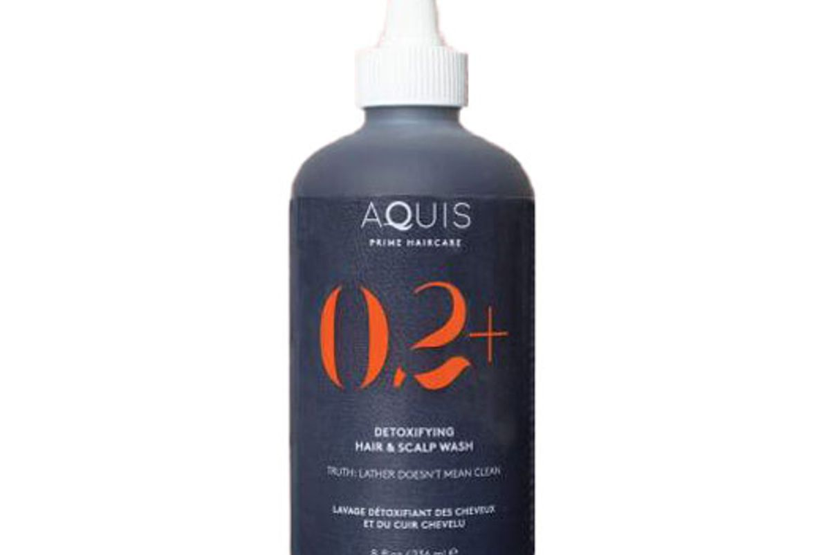aquis 02 plus detoxifying hair and scalp wash