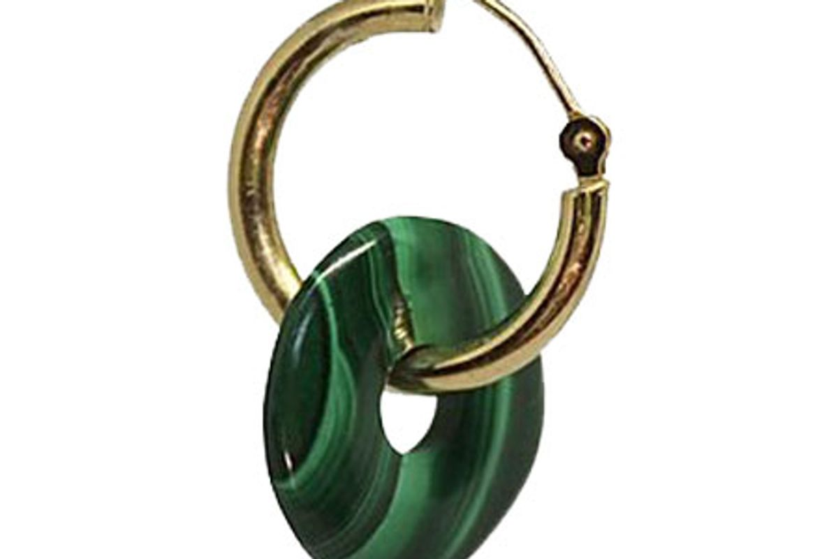 mediterraneo studio basil single earring