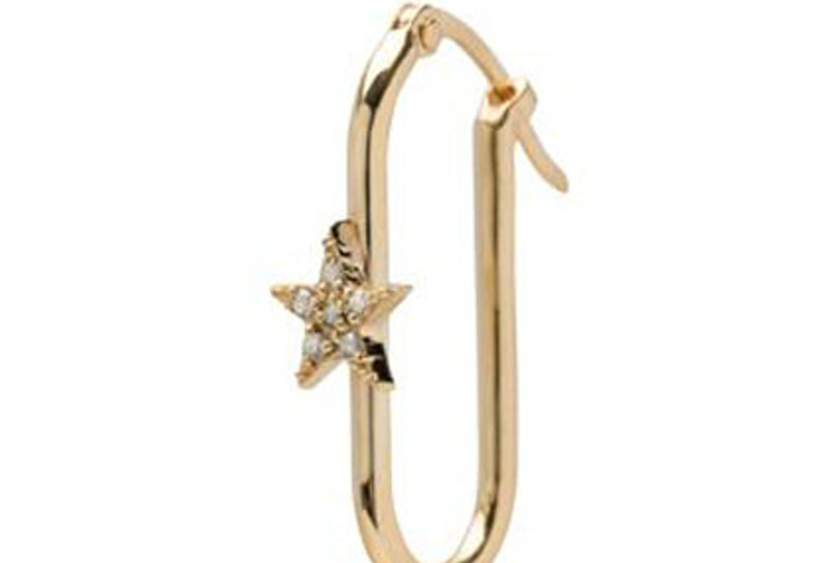 foundrae star small fob base earring