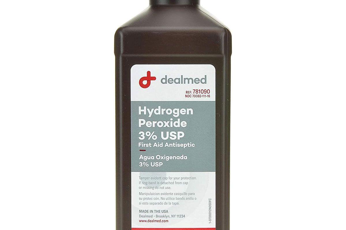 dealmed hydrogen peroxide three percent usp
