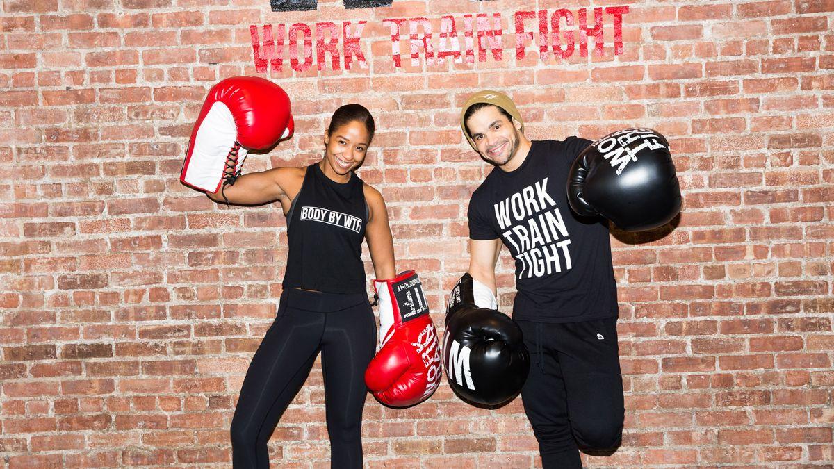 work train fight boxing