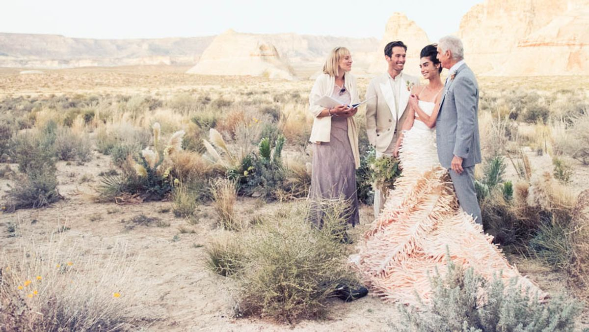It's Easy to See Why These Are 2017's Biggest Wedding Trends