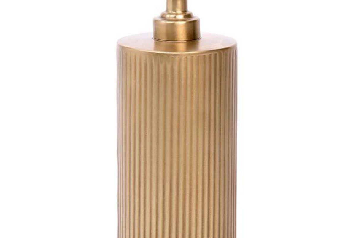 redon soap pump antique brass