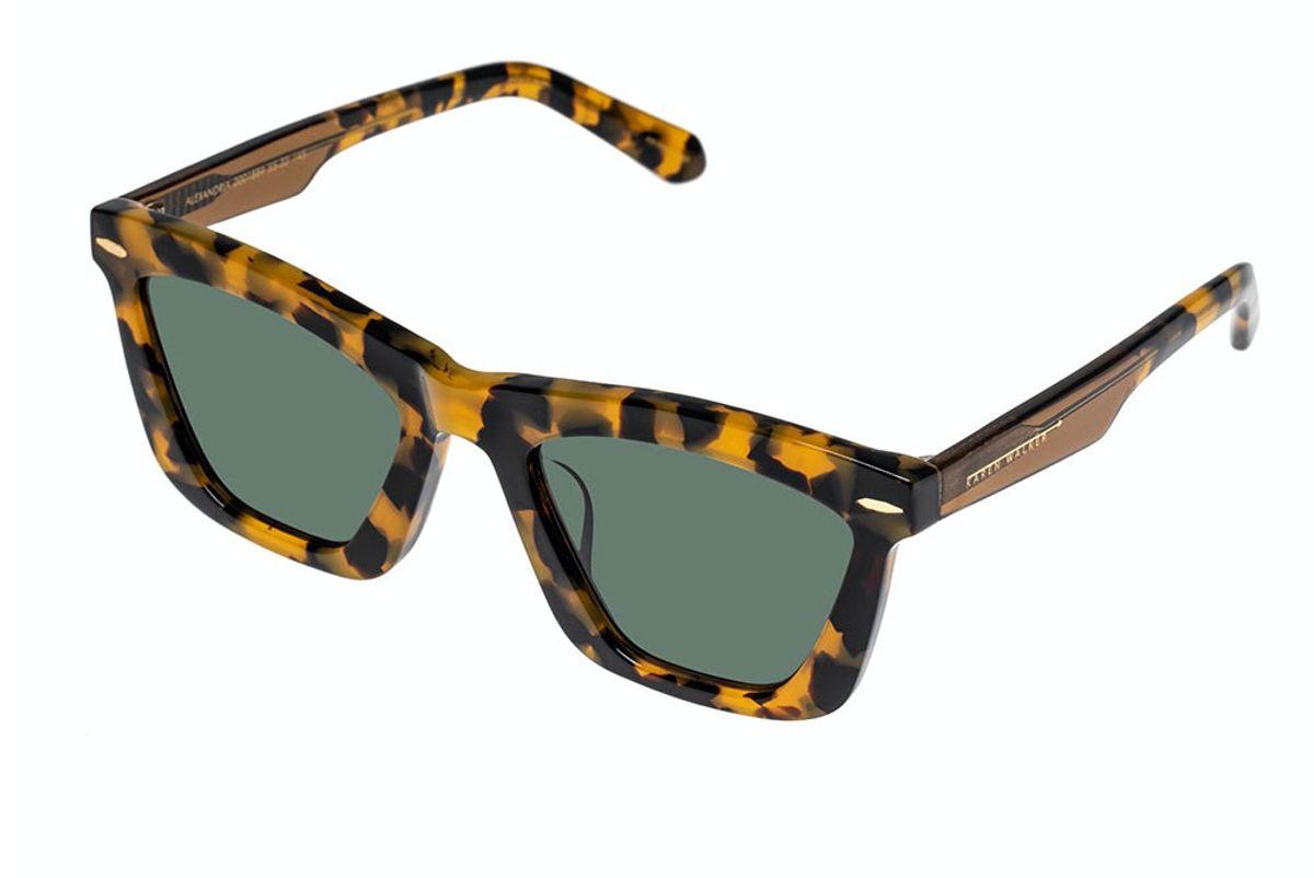 karen walker alexandria crazy tort sunglasses