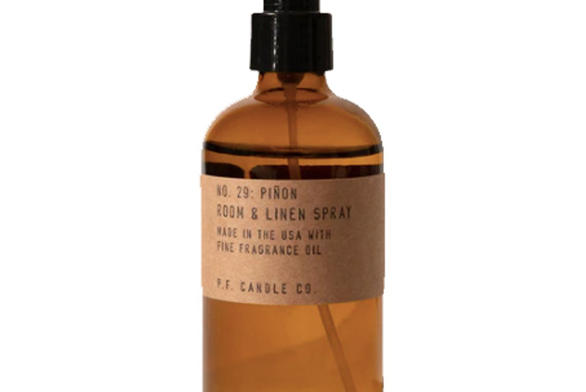 p.f. candle co pinon room and linen spray