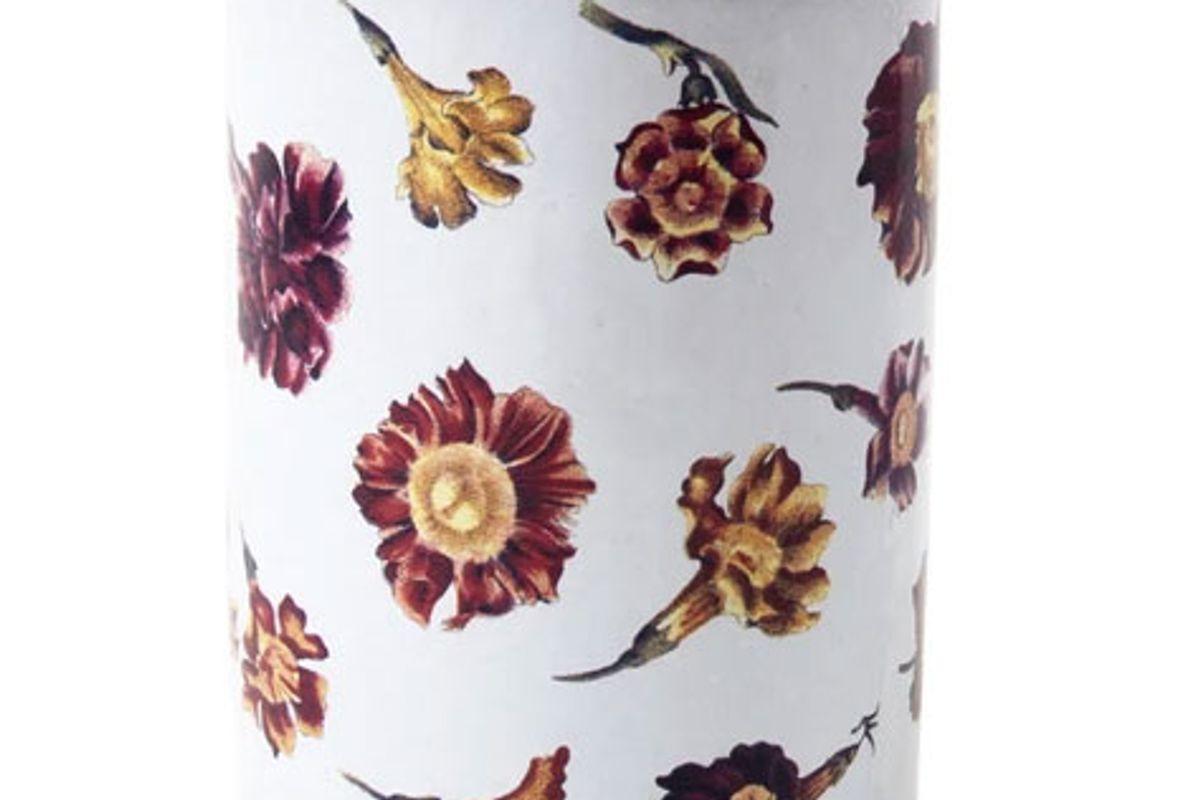 john derian and astier de villatte orange flora vase