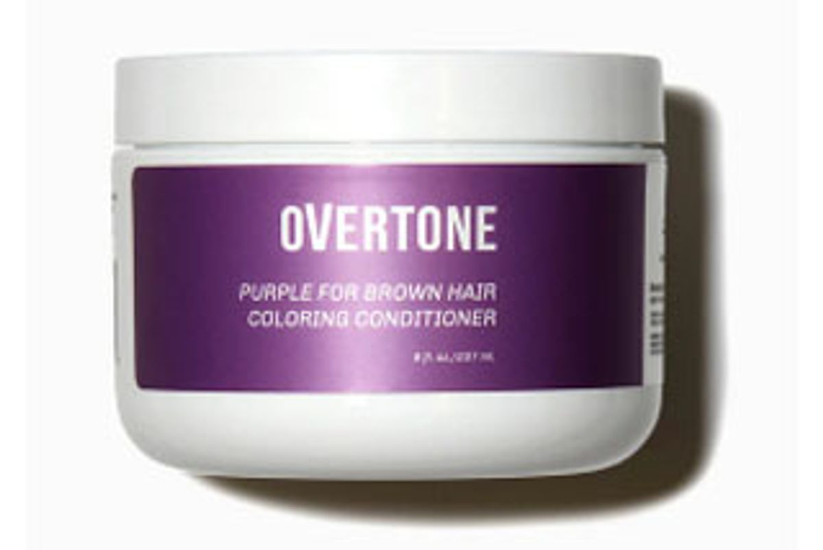 overtone purple for brown hair coloring conditioner