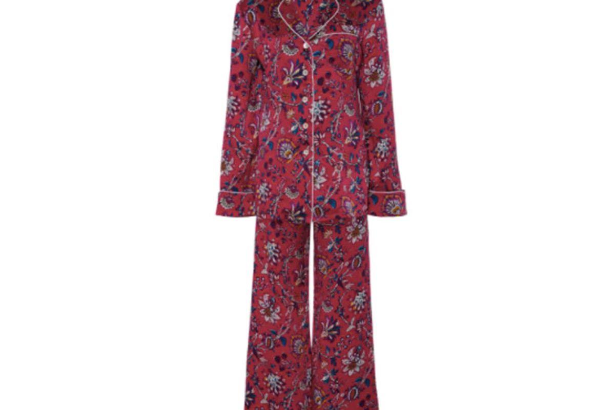 Lila Yasmin Paisley Pajama Set