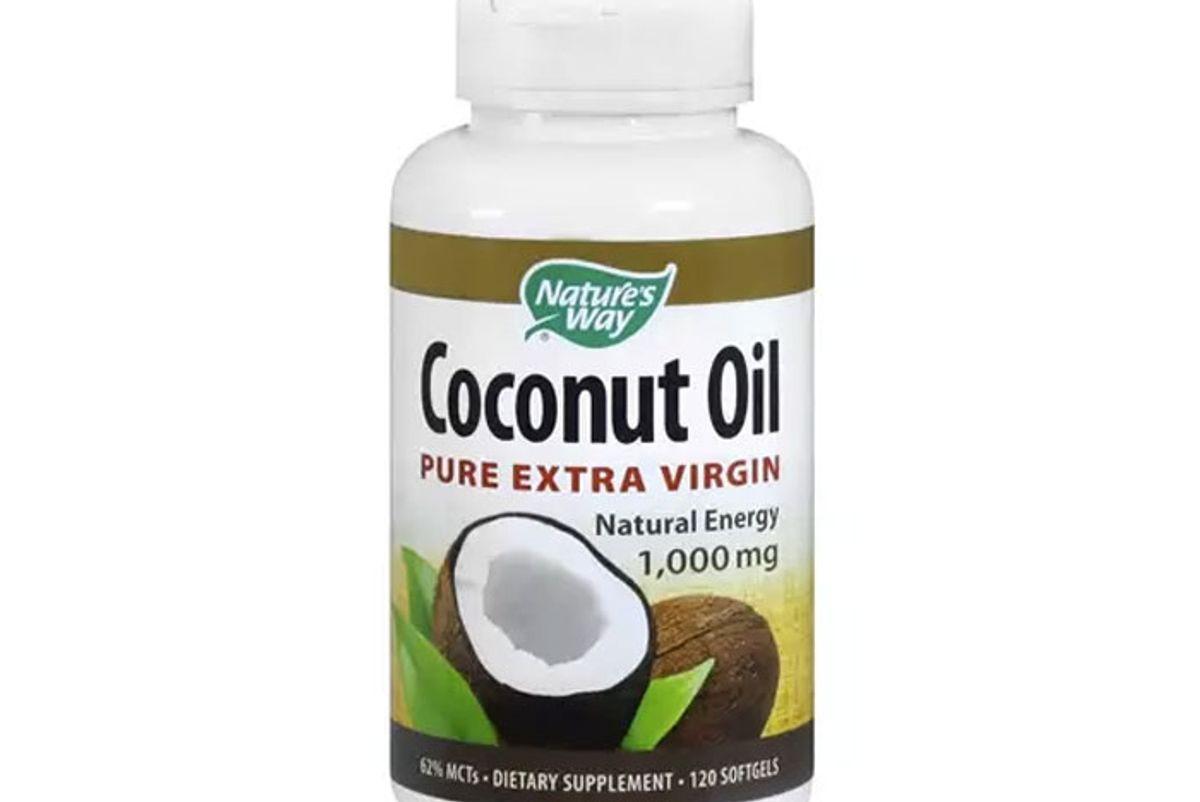 Coconut Oil Pure Extra Virgin 1,000mg, Softgels