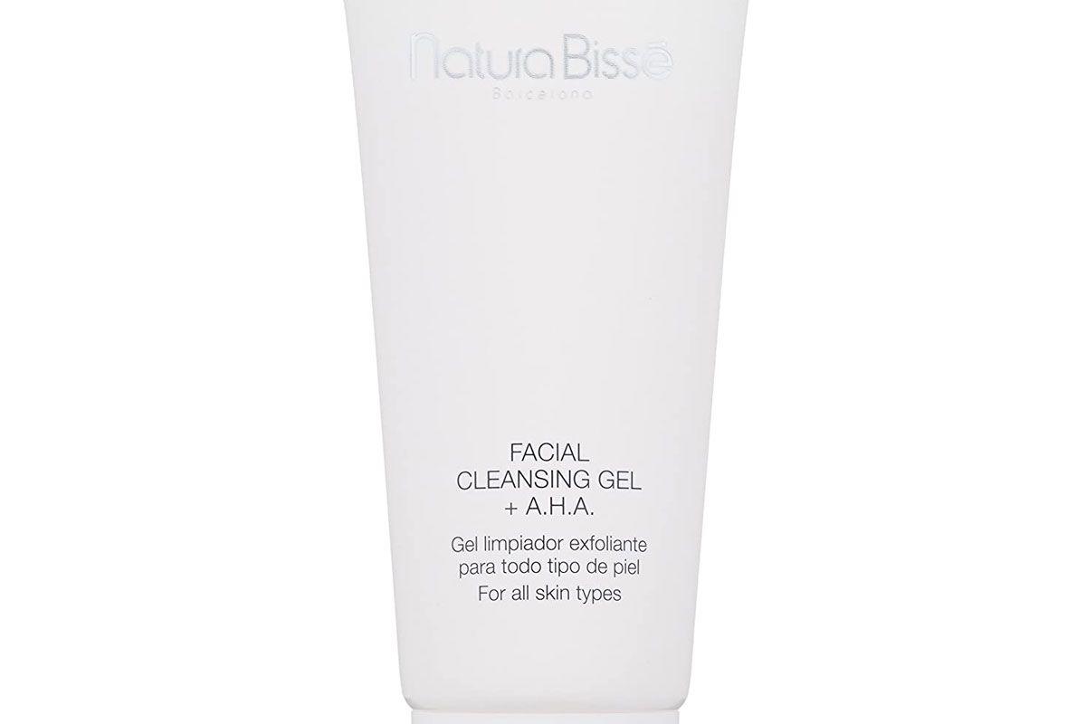 natura bisse facial cleansing gel aha