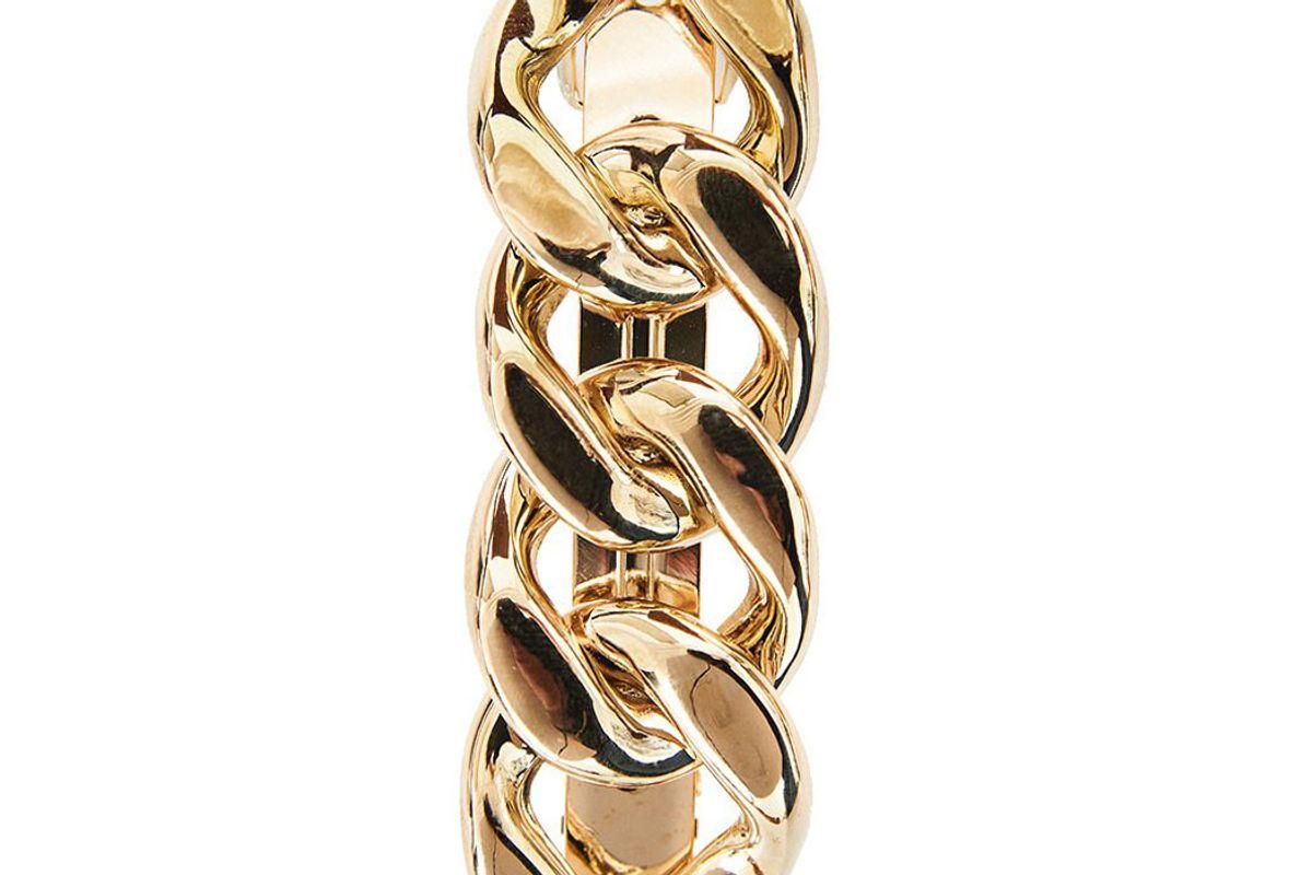 pixie market gold link chain barrette