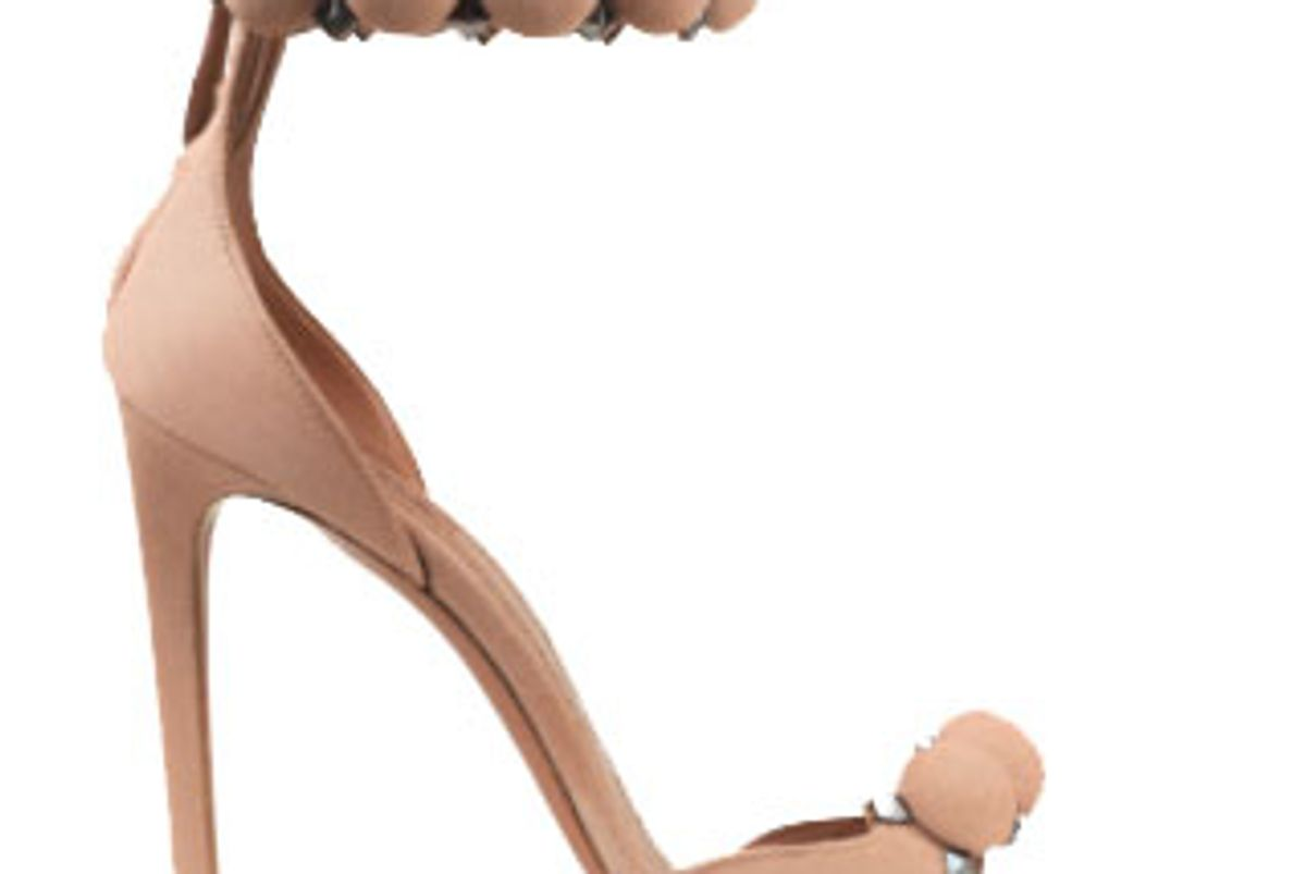 alaia stiletto sandal