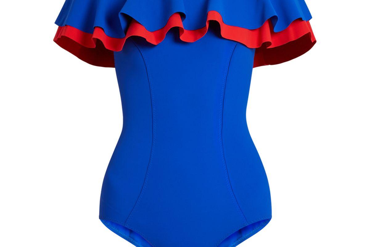 Mira Flounce Bonded Swimsuit
