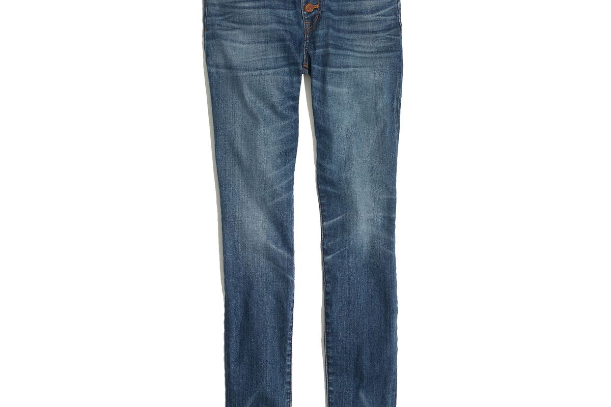 """9"""" High-Rise Skinny Jeans: Button-Through Edition"""