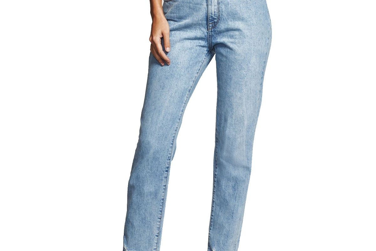 Goldie High Rise Tapered Jeans