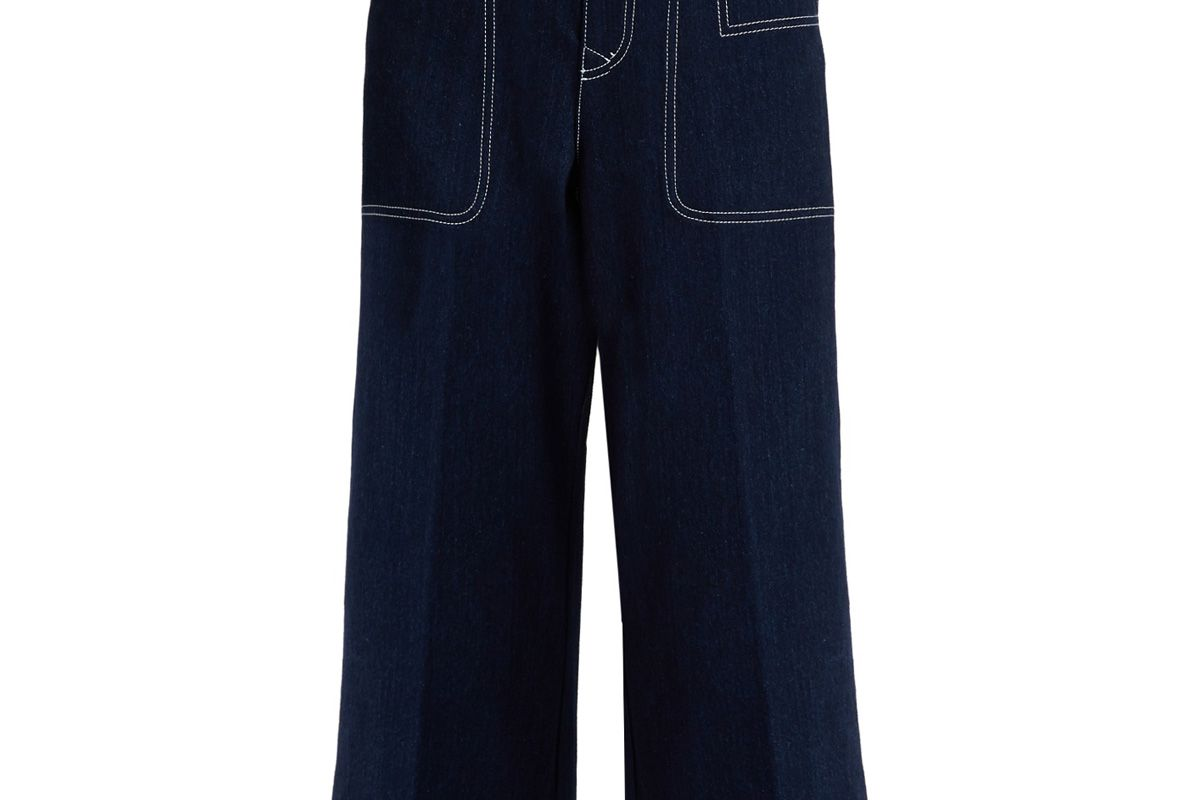 Texel Cropped Wide-Leg Jeans