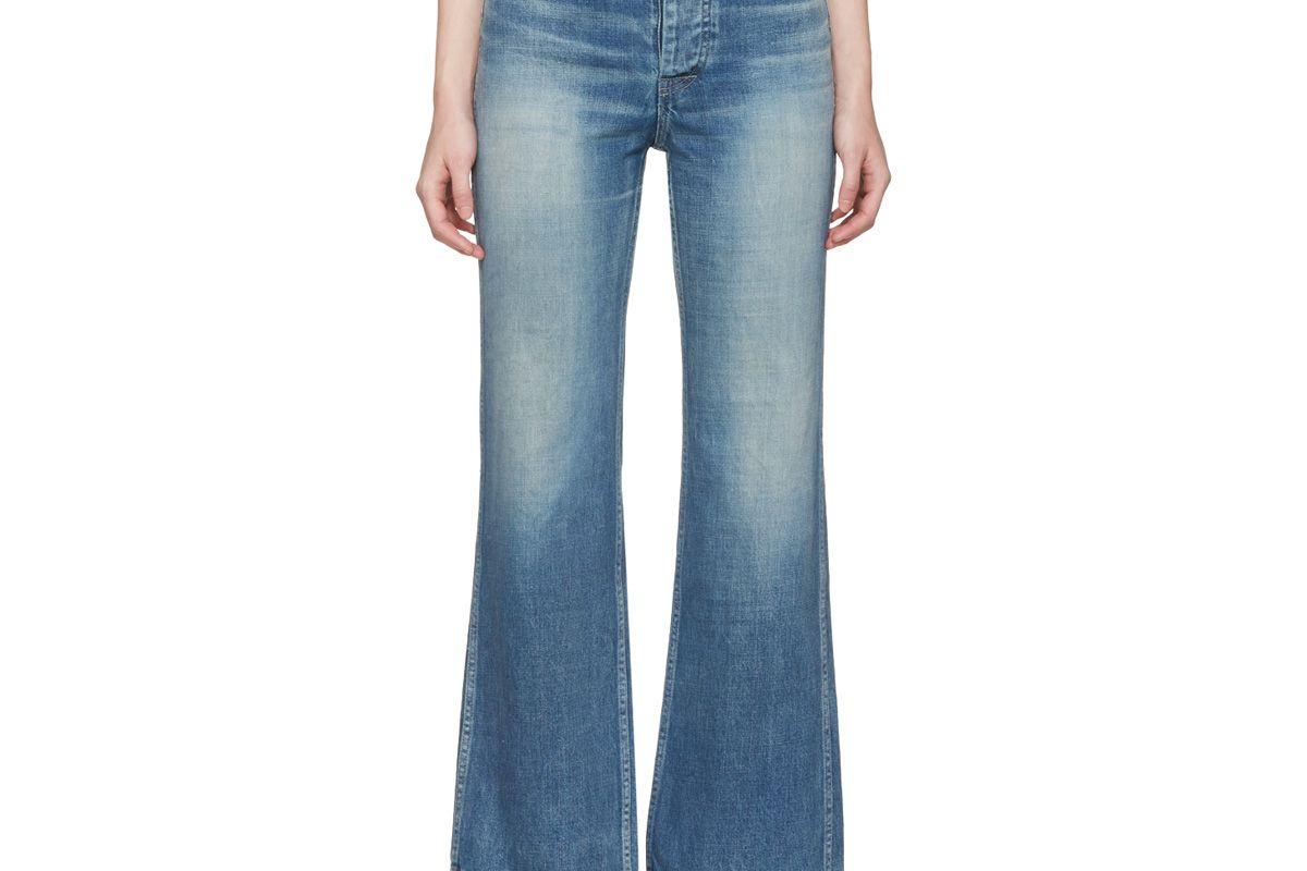 Blue Social Sculptress Jeans