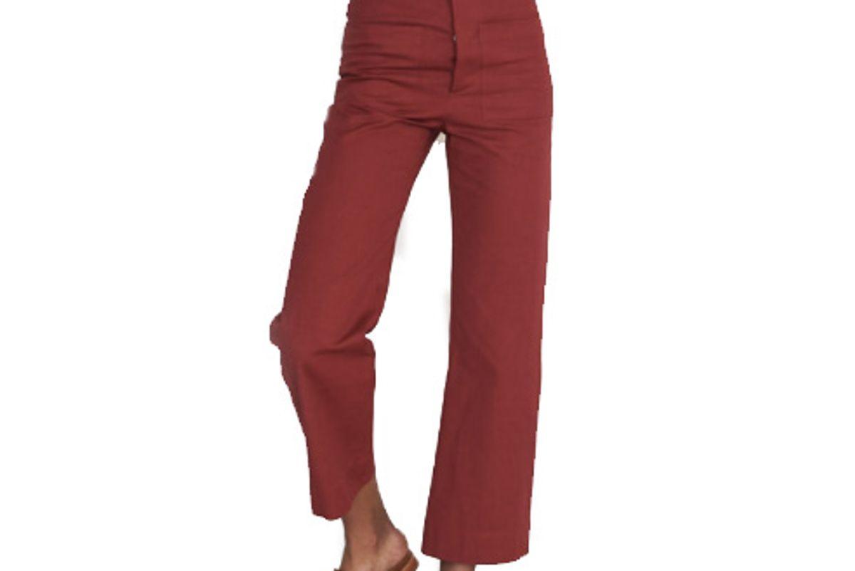 High Waisted Trouser