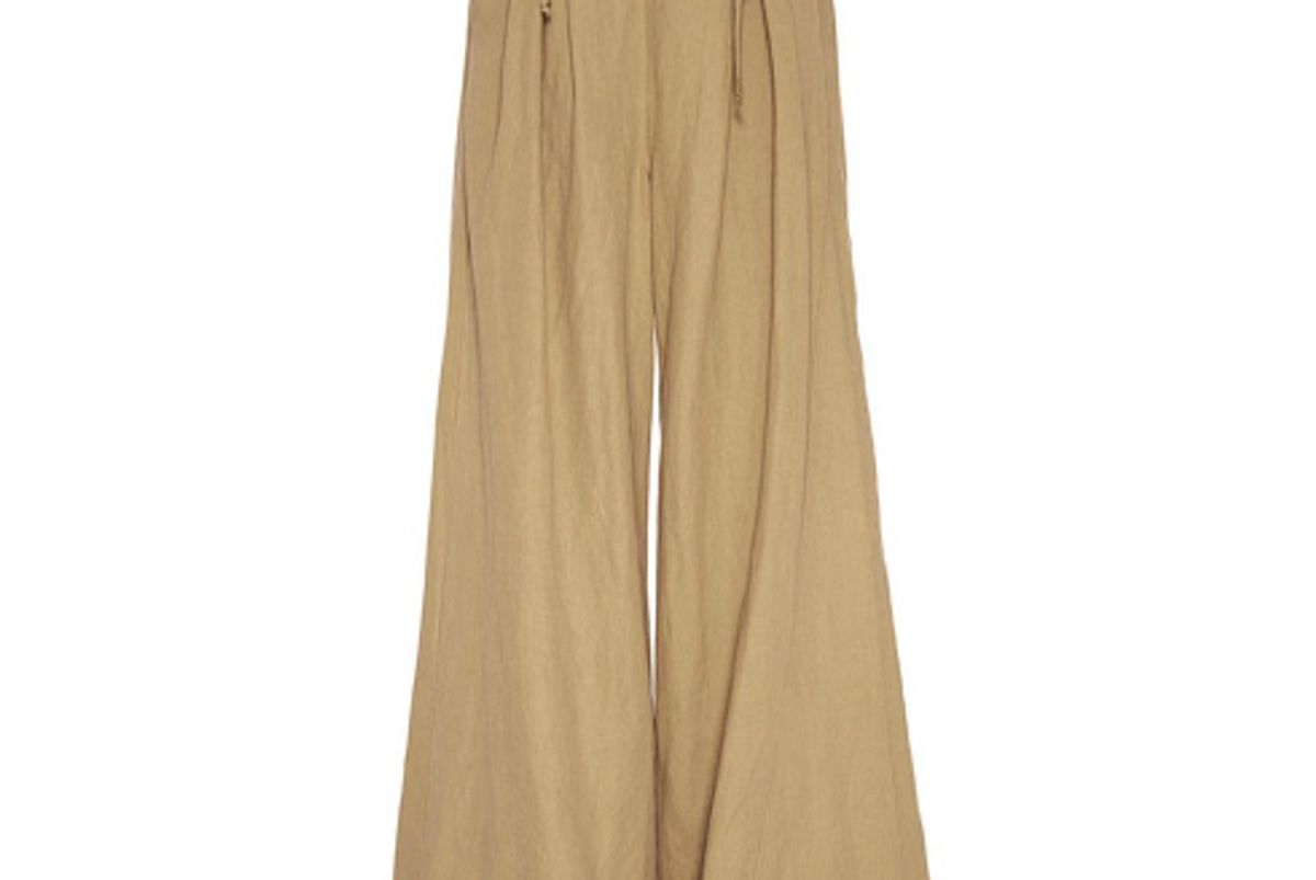 Gaucho Lace Up Trouser