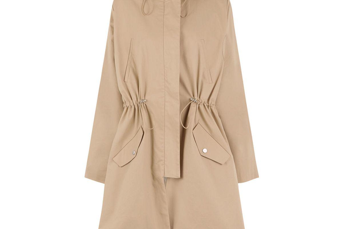Chino Lace Back Windbreaker Jacket