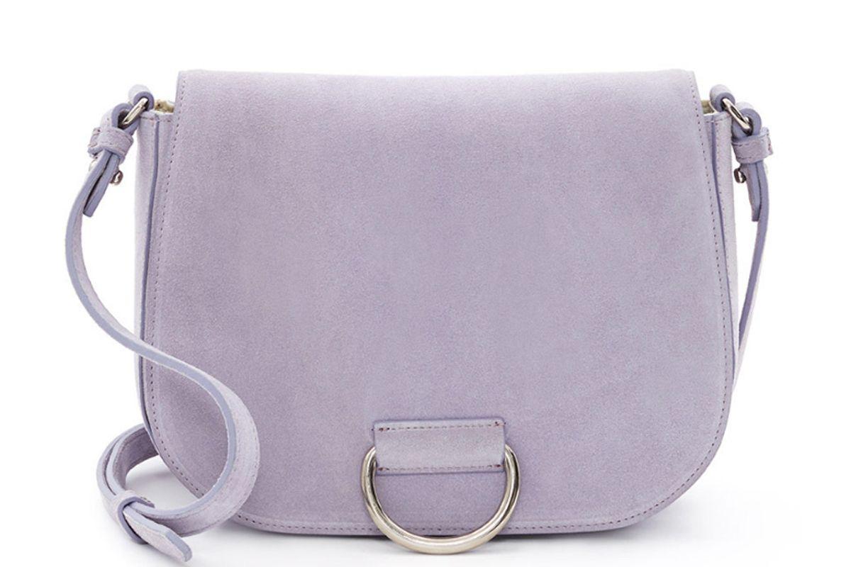 Suede D Saddle Bag