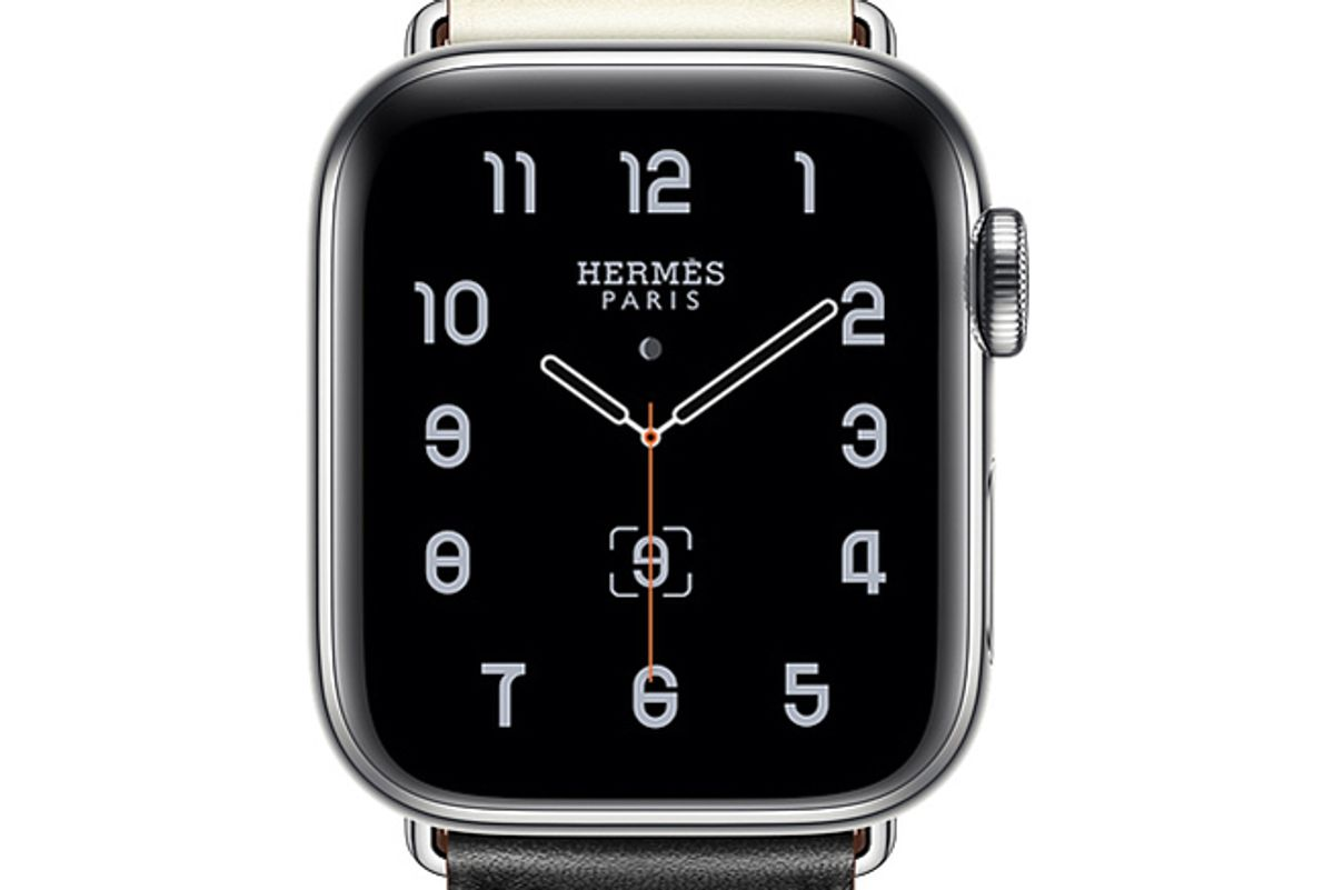 apple watch hermes stainless steel case with single tour