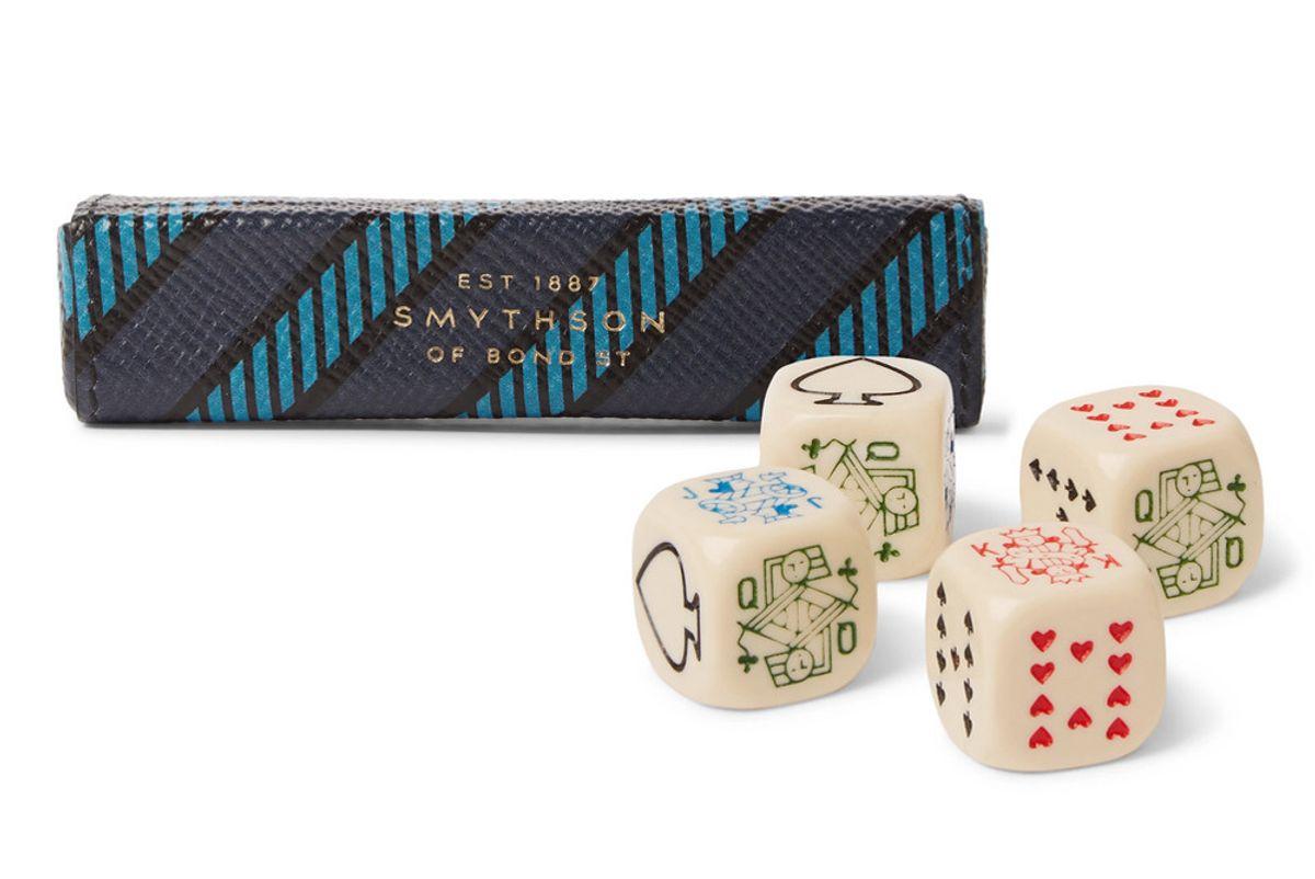 smythson panama poker dice