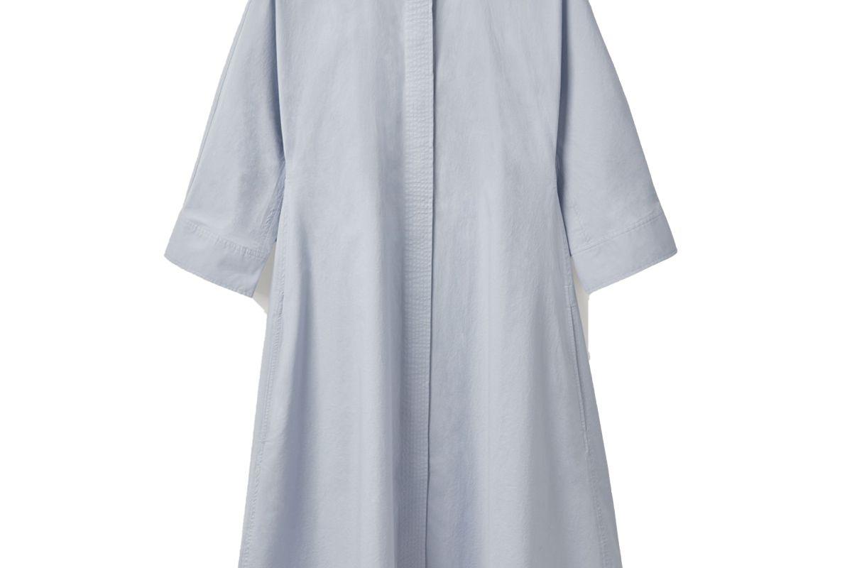 cos cotton shirt dress