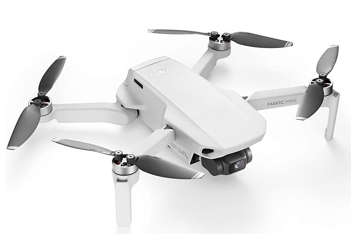 dji mavic mini drone flycam quadcopter uav with 2 7k camera 3 axis gimbal gps 30min flight time