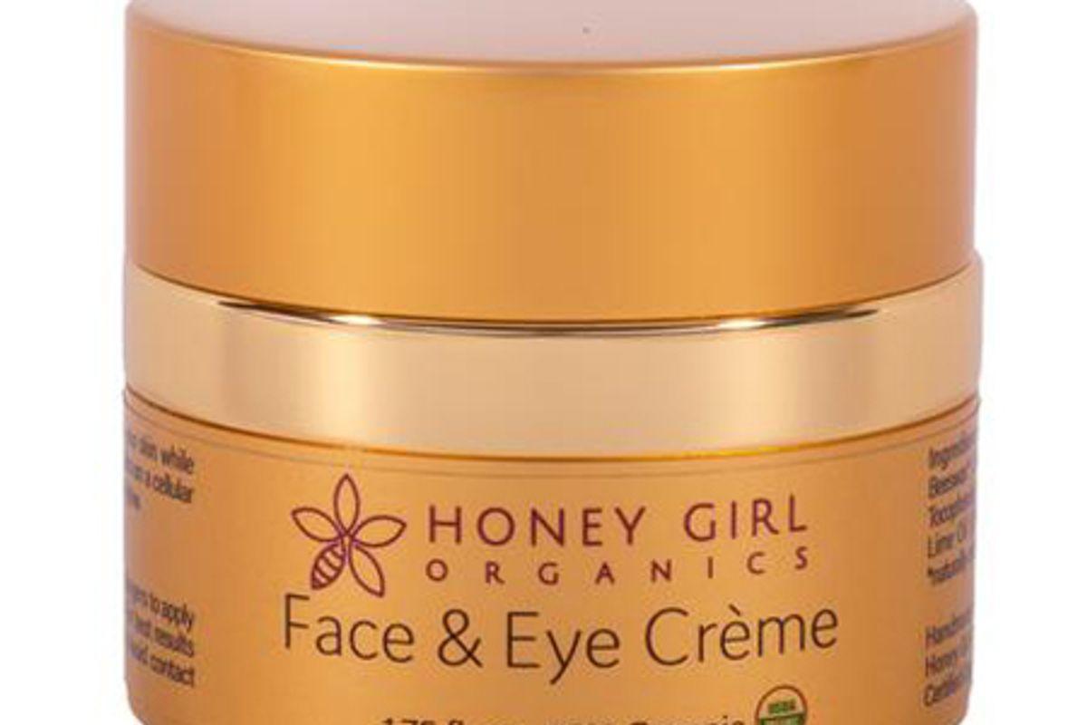 honey girl organics face and eye cream