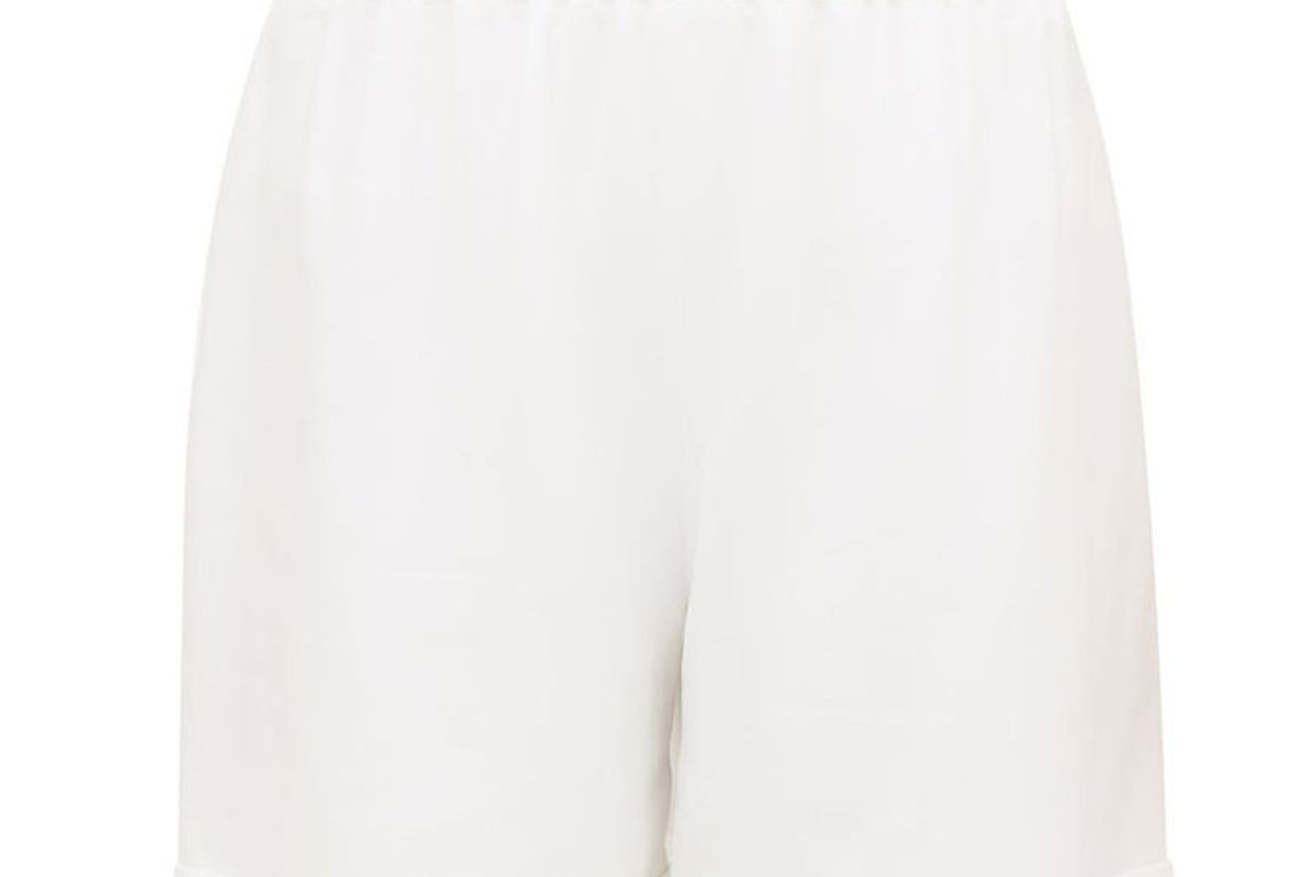 odyssee benson high rise twill shorts