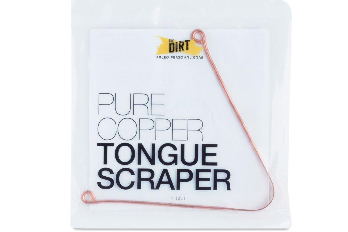 pure copper tongue scrapper