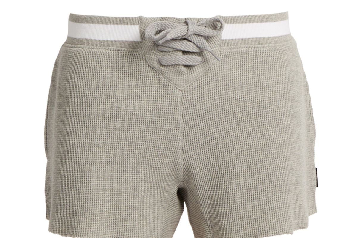 Oxford Cotton Shorts