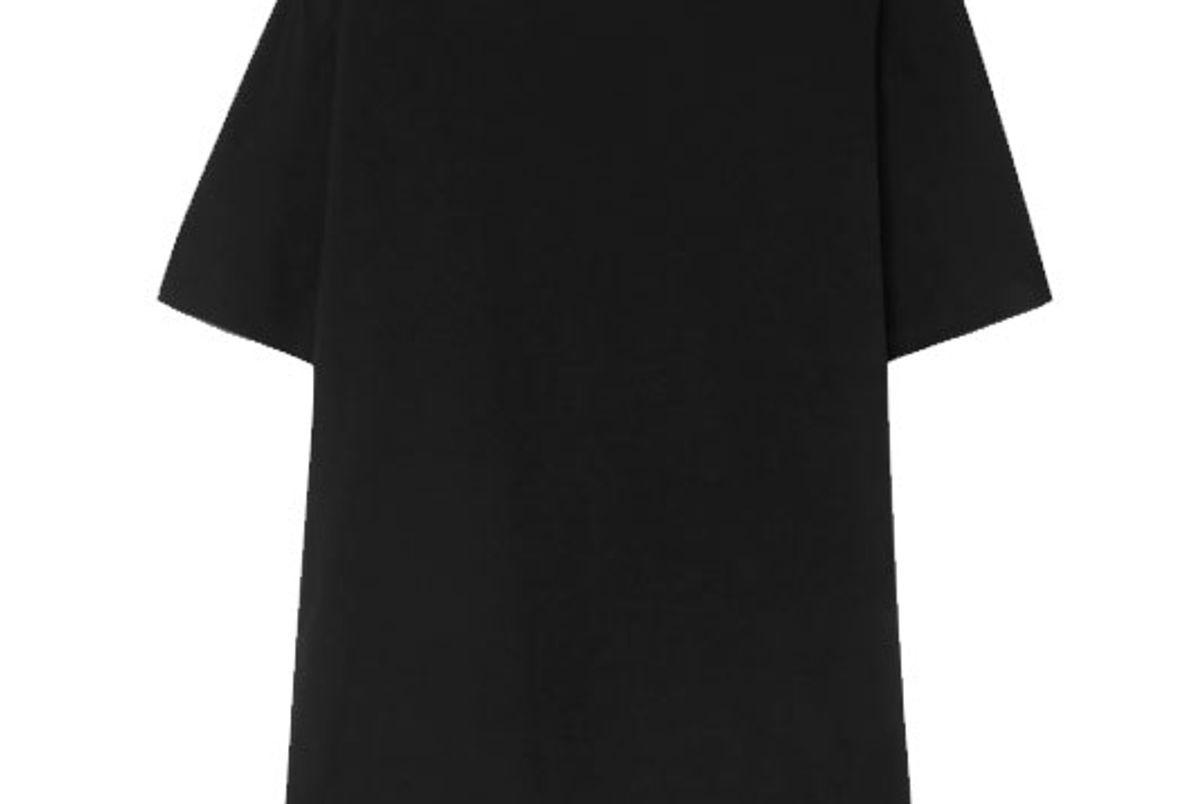 bassike organic cotton jersey t-shirt