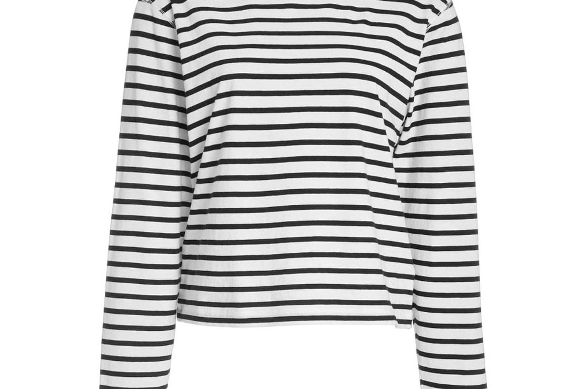 atm anthony thomas melillo classic striped cotton jersey t-shrt
