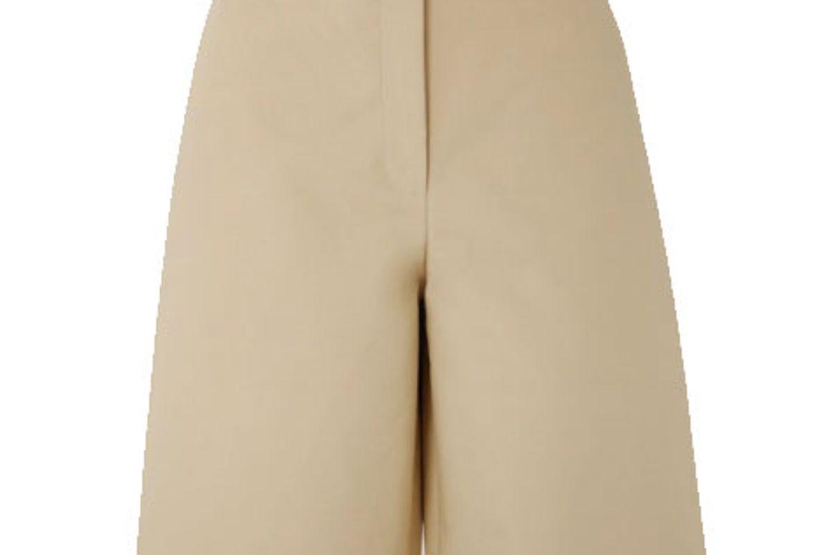 lvir cotton poplin shorts