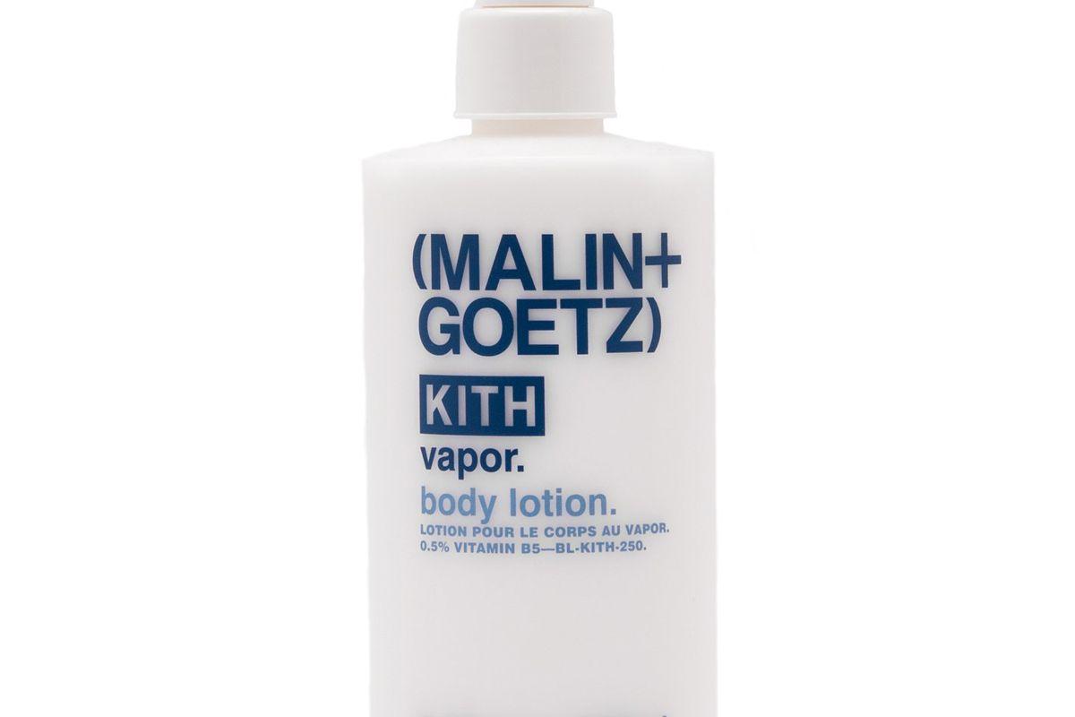 kith x malin and goetz vapor body lotion