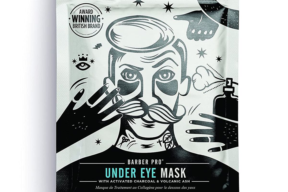barber pro charcoal undereye mask