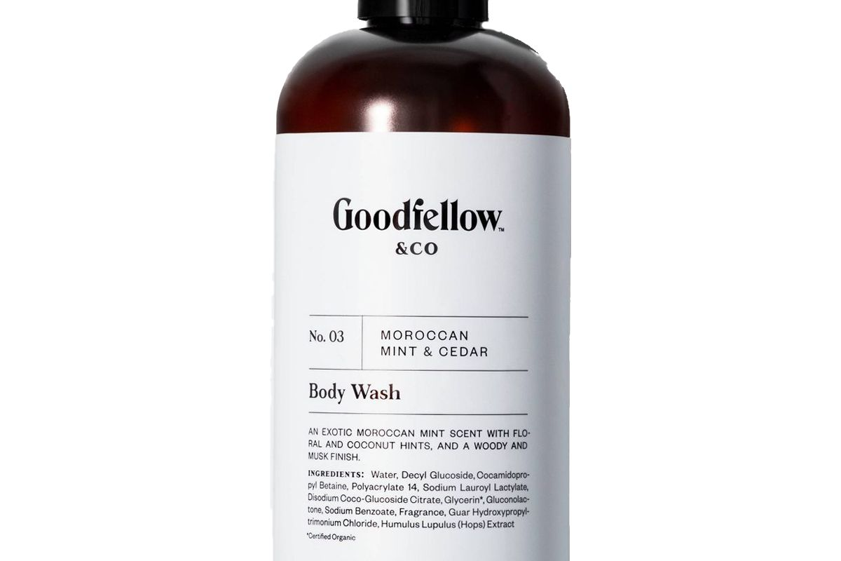 goodfellow and co no 03 moroccan mint and cedar body wash