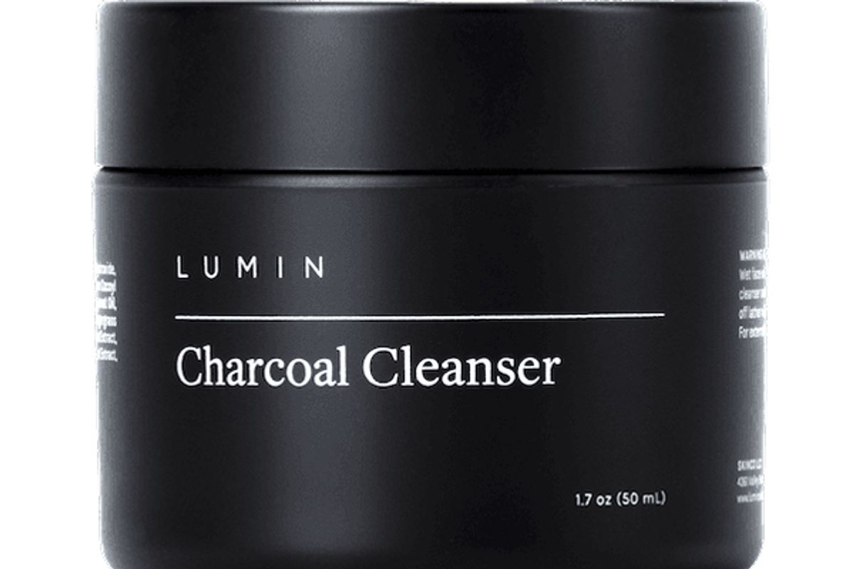 lumin no nonsens charcoal cleanser